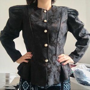 Vintage Victorian Puff Blazer